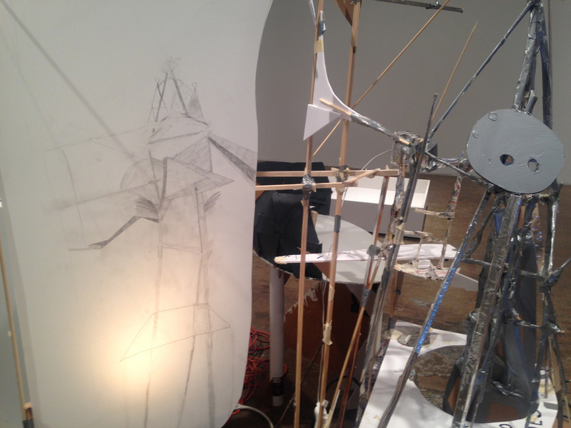 Patte Loper 2014 - 2015 After Lebbeus, A Model for Drawing