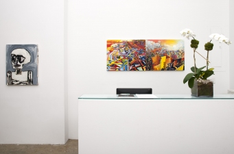 Paul Brainard Installation shots Allegra LaViola Gallery