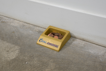 Paul Keefe Work Penny Tray, Cut Drywall