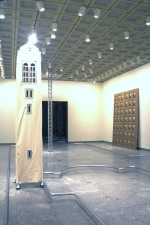 "Paul O'Keeffe ""From Door to Tower"" Installation  Installation, Cleveland Museum of Art"