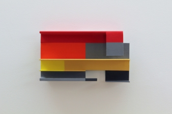 Paul O'Keeffe Smaller Wallpieces steel, flashe paint