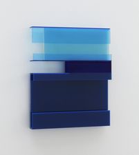 Paul O'Keeffe Plexiglas and Aluminum Wallpieces acrylic sheet, flashe paint