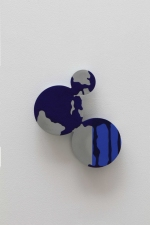 Paul O'Keeffe Plexiglas and Aluminum Wallpieces aluminum, flashe paint