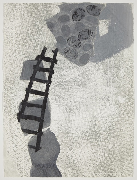 PEGGY WEIS ladders/nests/portals Mixed media