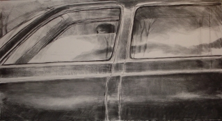Peter Charlap Drawings charcoal on papier maroufle