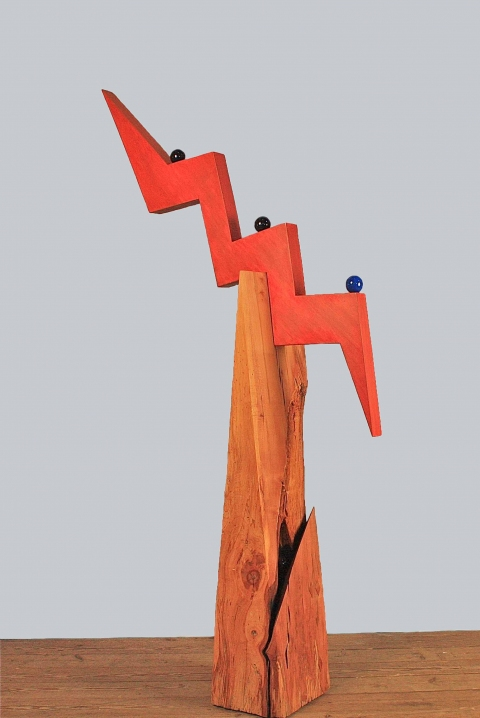 Assembled Sculptures Wood