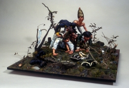 Phil Whitman Dioramas and Figures polymer clay and diorama materials