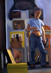 Phil Whitman Older Drawings and Paintings oil on panel