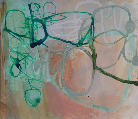 TRACEY PHYSIOC BROCKETT Daily Tangles and Fugue States ink, acrylic and marker on paper
