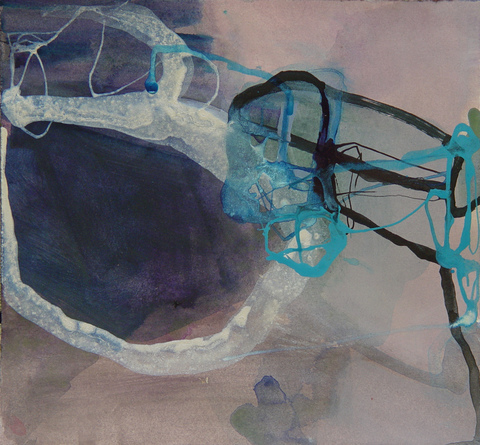 TRACEY PHYSIOC BROCKETT Daily Tangles and Fugue States ink, marker and acrylic on paper