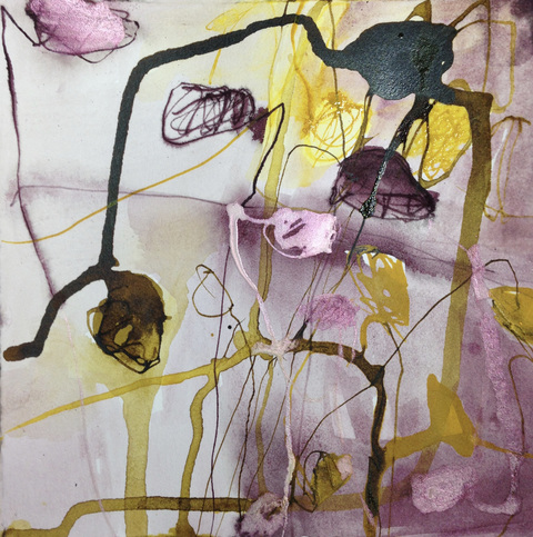 TRACEY PHYSIOC BROCKETT Daily Tangles, work on paper 2016-2017 ink on paper