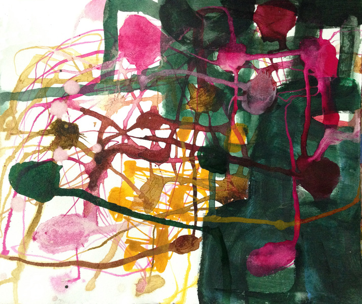 TRACEY PHYSIOC BROCKETT Daily Tangles and Fugue States 10.12.17