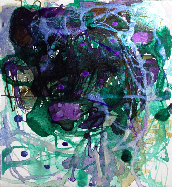 TRACEY PHYSIOC BROCKETT Daily Tangles and Fugue States 9.25.17a