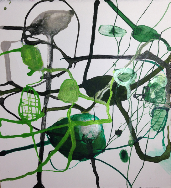 TRACEY PHYSIOC BROCKETT Daily Tangles and Fugue States 8.27.17