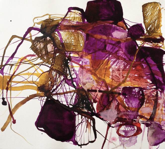 TRACEY PHYSIOC BROCKETT Daily Tangles and Fugue States 10.14.17