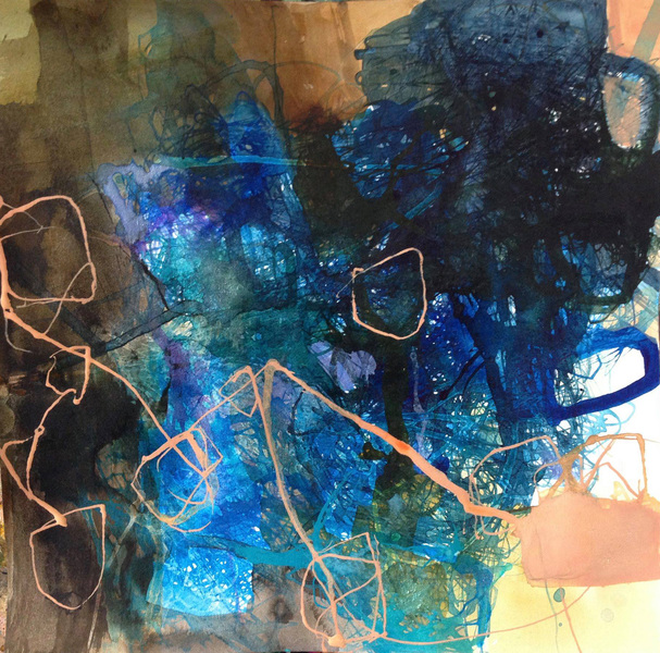 TRACEY PHYSIOC BROCKETT Daily Tangles and Fugue States Tangle 10.23.18