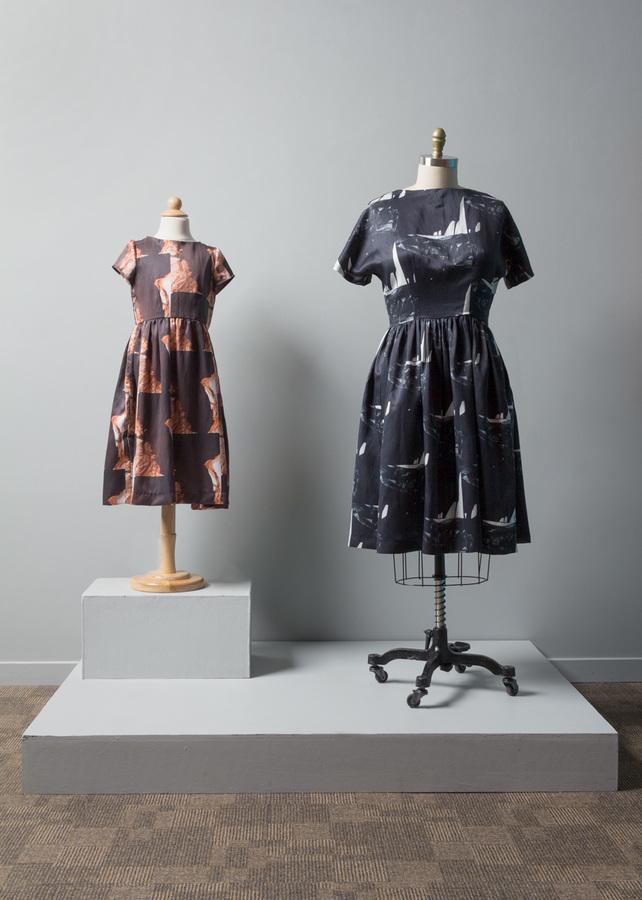Pilar Agüero-Esparza Color Perception Dresses for Linda Brown (Brown vs. Board of Education)
