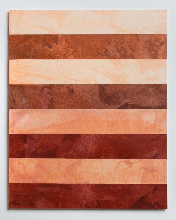 Pilar Agüero-Esparza Color Perception Skin Tone 1: apricot, peach, burnt sienna, mahogany