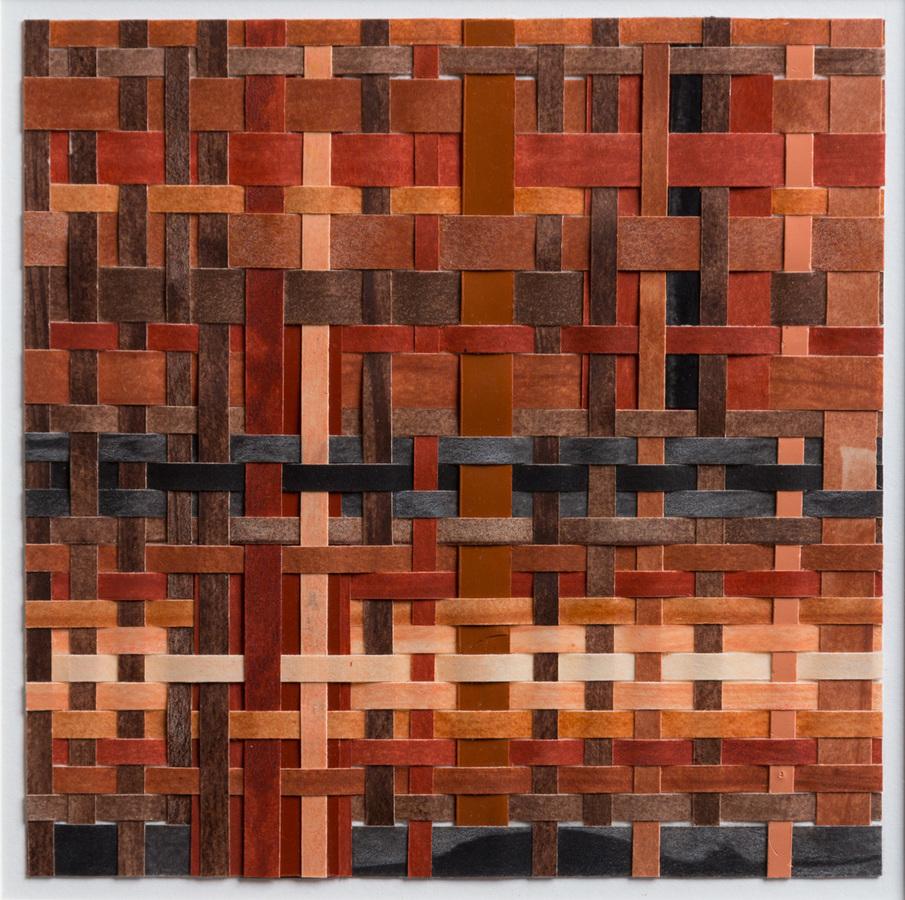 Pilar Agüero-Esparza Color Perception Skin Tone 12: peach, tan, burnt sienna, mahogany, sepia, black