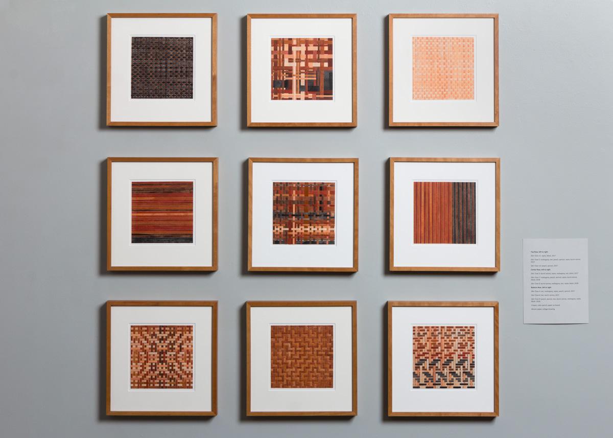 Pilar Agüero-Esparza Color Perception Skin Tone Drawings