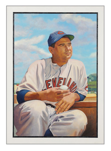 Jon Post ICONIC Baseball Collection Oil on Panel