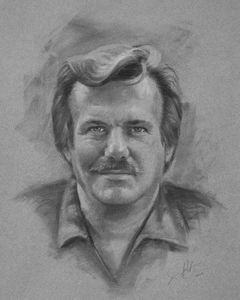 Jon Post Charcoal Portraits