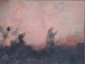 Priscilla Derven Paintings 2003 encaustic on panel