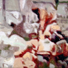 Priscilla Derven Paintings 2005-2006 encaustic on panel