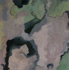 Priscilla Derven Paintings 2016-2017 Oil / encaustic on panel