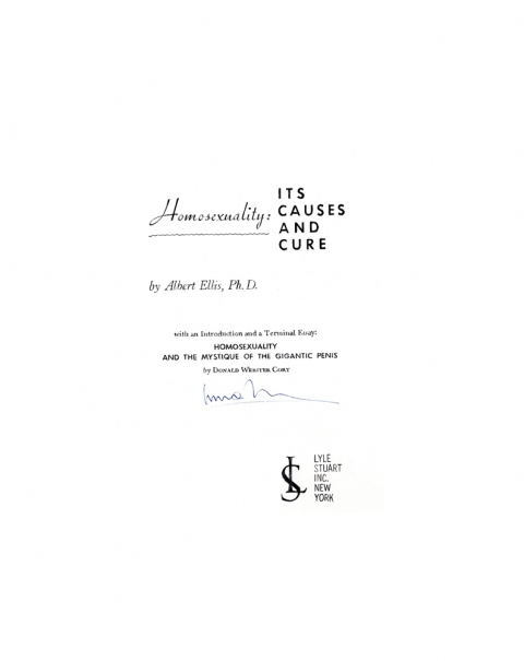 Lucas Michael Mein Buch It's Causes and Cure, 1965