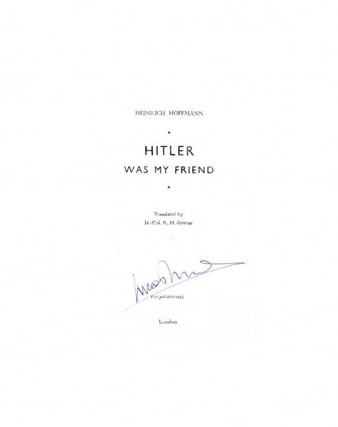 Lucas Michael Mein Buch Hitler Was My Friend, 1955