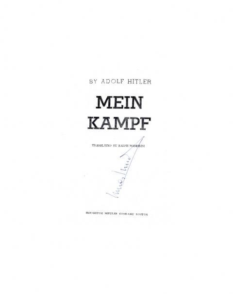 Lucas Michael Mein Buch Mein Kampf, 1973