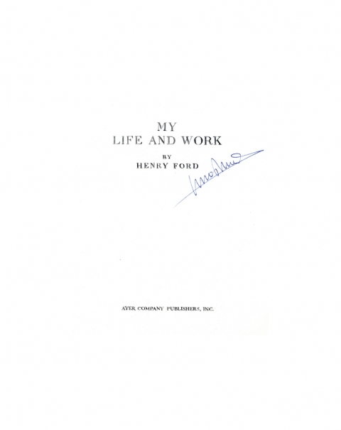 Lucas Michael Mein Buch My Life and Work, 1998