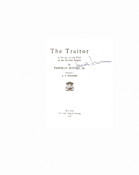 Lucas Michael Mein Buch The Traitor,