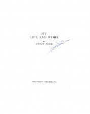 My Life and Work, 1998