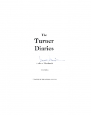 The Turner Diaries, 1980