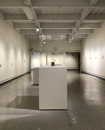 installation view at Roswell Museum and Art Center