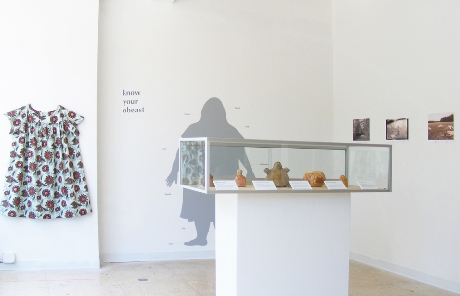 MOCS Installations Know Your Obeast (Installation view)