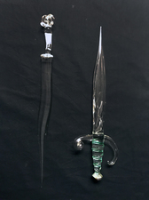 Joshua Raiffe Glass Weapons