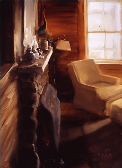 Paintings Cottage Interior