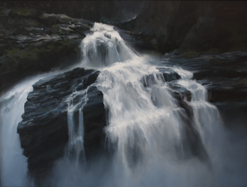 Paintings Waterfall