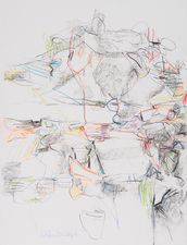 Rob Calvert Drawings  graphite, colored pencil and charcoal on paper