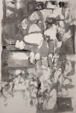 Rob Calvert Drawings  Oil, charcoal and graphite on paper