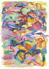 Rob Calvert Paintings Oil on paper