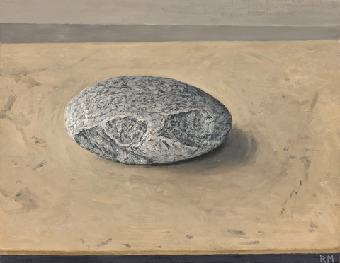 Reid Masselink Still-Life oil on paper laid down on panel