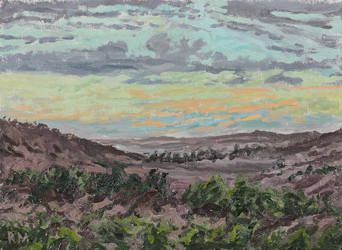 Reid Masselink Landscapes oil on canvas
