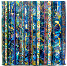 Reni Gower Triple Panels