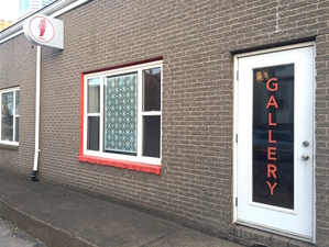 Reni Gower Hermes Gallery: Halifax, Nova Scotia Cut Vinyl