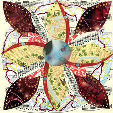 Reni Gower Small Works Mixed Media / Collage