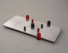 Richard Rezac Sculpture 1997-2003 Cast polyurethane and aluminum